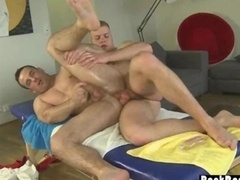 Masseuse and furthermore Client 69