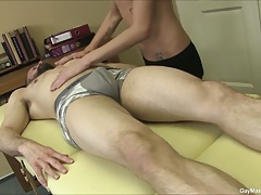 Hot Gay Massage And Ass Licking