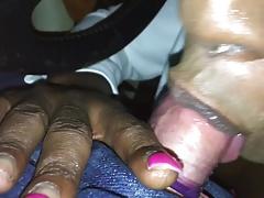 Black CD Street Hoe Sucks Off Chub