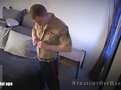 Tatted Marine Sgt.
