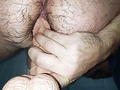 Huge 8 Inch Dildo Destroys My Tight Ass