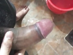Masturbating and cum