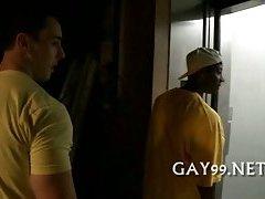 White & black gay story