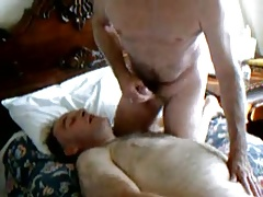 two daddies cumming