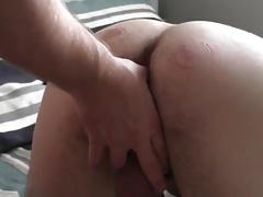 Rough Redneck Daddy humps new bottom boy's bum bum