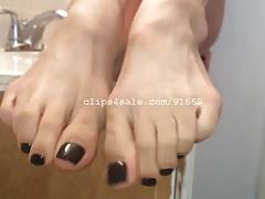 Foot Fetish - Indica Feet Part5 Video1