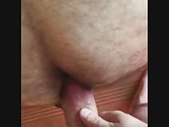 Bareback hairy ass