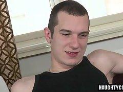 Big dick daddy oral sex and facial