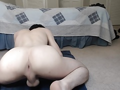 Stunning Bubble Pale Ass Exposing Hole