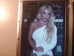 Britney Spears Cum Tribute 60
