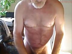 Hot mature man cumming
