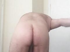 Sissy Slut Jessica Naked Self Spanking 100 Times