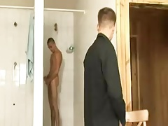 Boys Take a Shower and Fuck