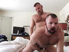 Hairy couple fuck