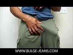 Black Bulge Play And Jerk