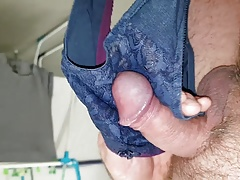 me wanking with neighbours panty