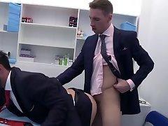Kayden's fat cock Fucks Doctor De Marco