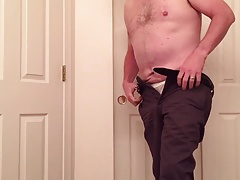 Stripping After a Day At The Office