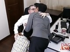 Big dicked Daddy has threesome with Gilbert and Andrew