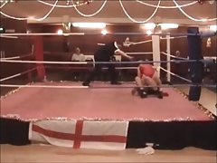 Milf competitive ring wrestling