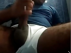 BIG BLACK HAIRY AND CURVED UNCUT DICK BIG CUMLOAD