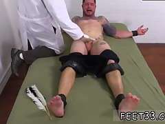 Clint Gets Naked Tickle Treatment