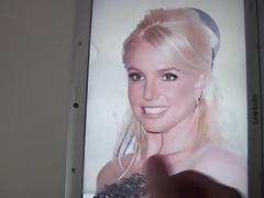 Britney Spears Cum Tribute 62