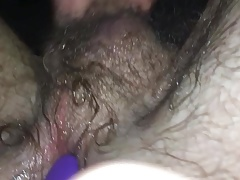Wanking with a buttplug in. Huge cumshot.