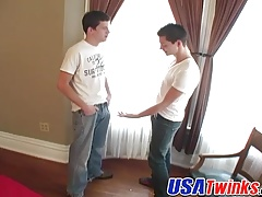 Horny Trystian made a move as he enters Devins new bedroom
