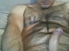 Hairy guy with nice cock
