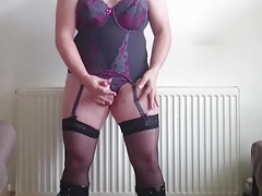 Boots, basque and wanking