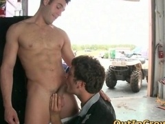 Hot girl-guy hunks get outed in public