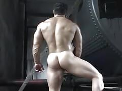 Playful Muscle Dude
