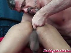 Tickling daddy pounding filipinos tight ass