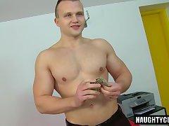 Big dick daddy casting and cumshot