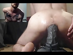 Dildo in ass gay