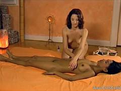 massage for beautiful brides