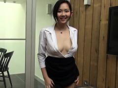 Asiático, Japonés, Masturbación, Solo, Juguetes