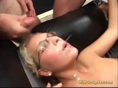 german girls in a wild groupsex orgy