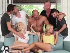 Bisexuell, Blondine, Gruppe, Hardcore, Hd
