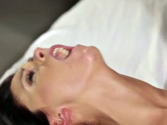 Beautiful girlfriend creampied after fucking