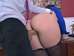 Lola gets her face, ass and pussy fucked so hard and deep