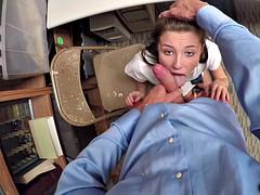 Sweet horny babe Carolina Sweets loves pussy to fuck