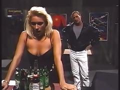Блондинки, В клубе, Секс без цензуры, Порнозвезда, Ретро, Винтаж
