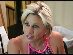 Skanky Mom caught Webcam wanking