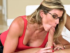 Swapping Cock with Stepmom