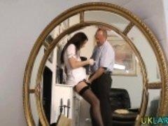 British stockings nurse