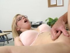 Penny Pax is dirty student that gets bonked on the teacher's desk