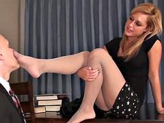 Femme dominatrice, Fétiche des pieds, Professeur