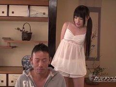 Asiatisch, Japanische massage, Titten